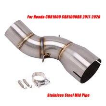 Выхлопная система средняя труба для honda cbr1000rr cbr1000