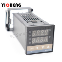 1 шт. PID цифровой регулятор температуры REX-C100 0 до 400C K Тип вход SSR выход 0 до 400C K Тип вход релейный выход