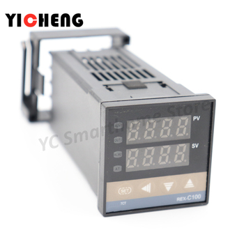 цена на 1pcs PID Digital Temperature Controller REX-C100  0 To 400C K Type Input SSR Output    0 To 400C  K type input relay output