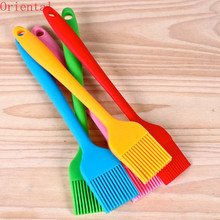 1PCS Silicone BBQ Oil Brush Basting Brush DIY Cake Bread Butter Baking Brushes Kitchen Cooking Barbecue Accessories BBQ Tools