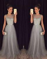 Evening Dress 2018 Elegant Banquet Lace Sleeveless Floor length Long Party Formal Gown plus size Robe De Soiree