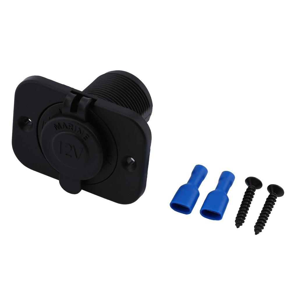 1PC Dual USB Car Cigarette Lighter Socket DC 12V 24V Charger Power Adapter Outlet Waterproof Cigarette Lighter For Motorcycle