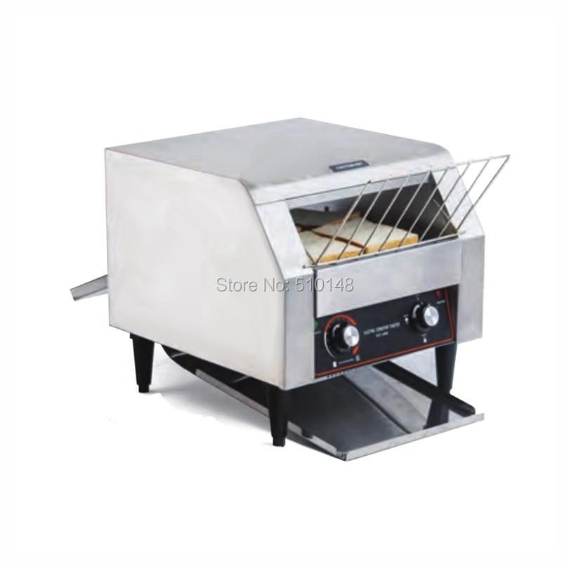 CT-300 Elektrikli Konveyör Tost Ev ve Ticari ekmek fırını 200-280 Dilim Ekmek 1 saat