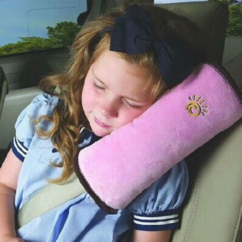 Neck Pillow For Baby Car Accessories Auto Safety Seat Belt Shoulder Cushion Kids Headrest Protection Support Toddler