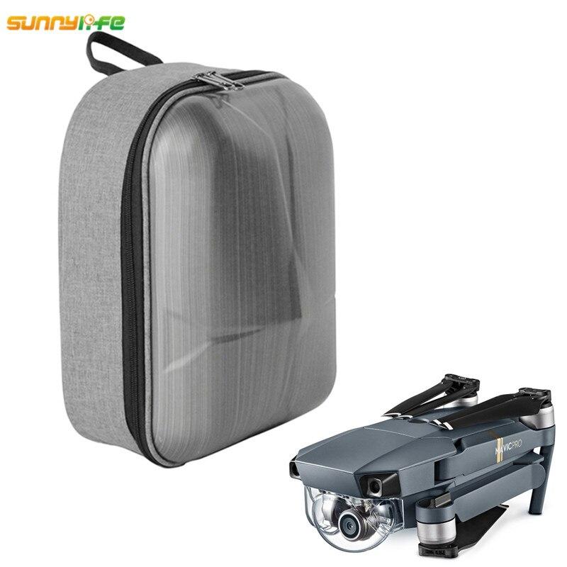 Mini Waterproof shoulder Bag DJI Mavic Pro crushproof Carry Bag Hardshell Backpack Hard Shell Case large Capacity DJI MAVIC Pro