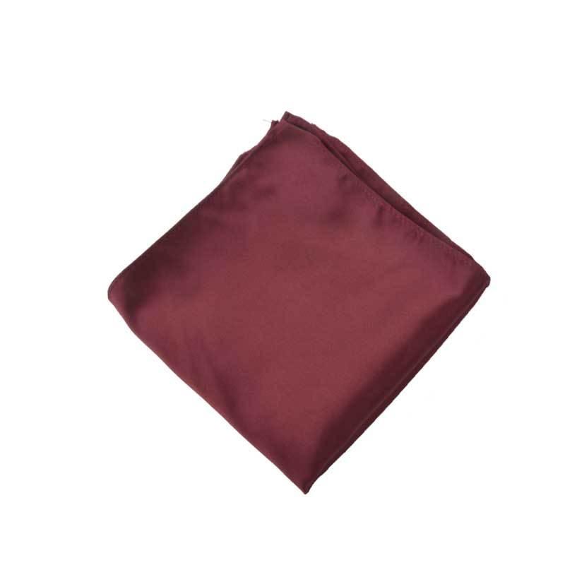 [] Men Small Square Towel Wedding Formal Dress Shirt Polyester Jacquard Pocket Square Enquiry