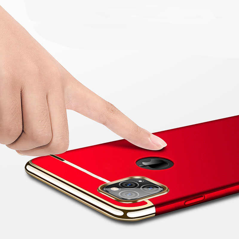 Capa para iphone 11 pro max capa para apple iphone 11 pro caso iphone 11 capa dura de volta à prova de choque para iphone 11 casos