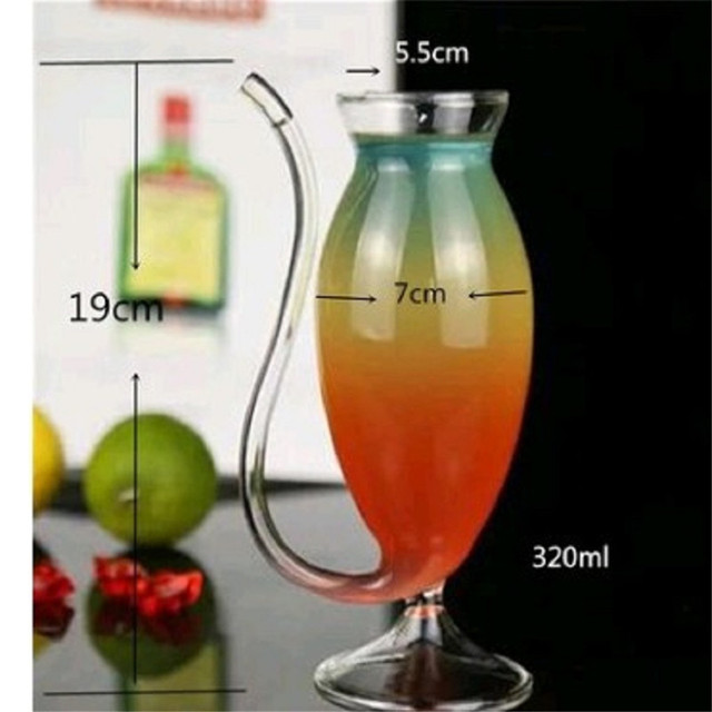 Wine Whiskey Glass Heat Resistant Glass Sucking Juice Milk Cup Tea Wine Cup For Bar Home Party Drinkware Tool Accessiores 4