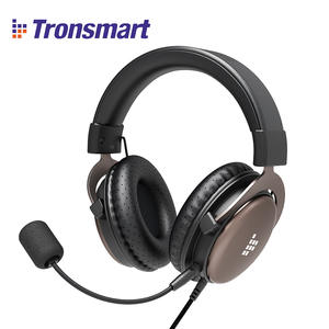 Original Tronsmart Sono Gaming Headset Headphones 3.5mm Interface with Mic for PC, Xbox One, PS4, Switch and Mobile Devices