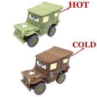 Disney Pixar Cars Rare Plastic Changers Color Sarge Best  Kid's Gift Collection