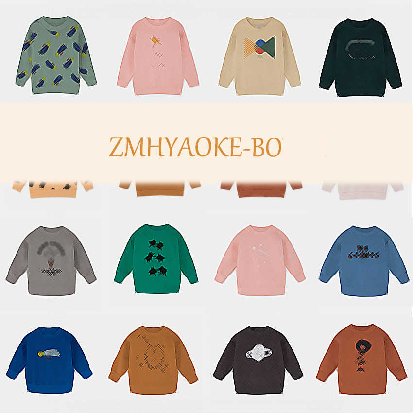 Pre-sale ZMHYAOKE-BO CH* 2019 Autumn Toddler BOY Sweatshirts Baby Girl Sweatshirt Cartoon Boy Clothes Kids Clotning Girl Tops