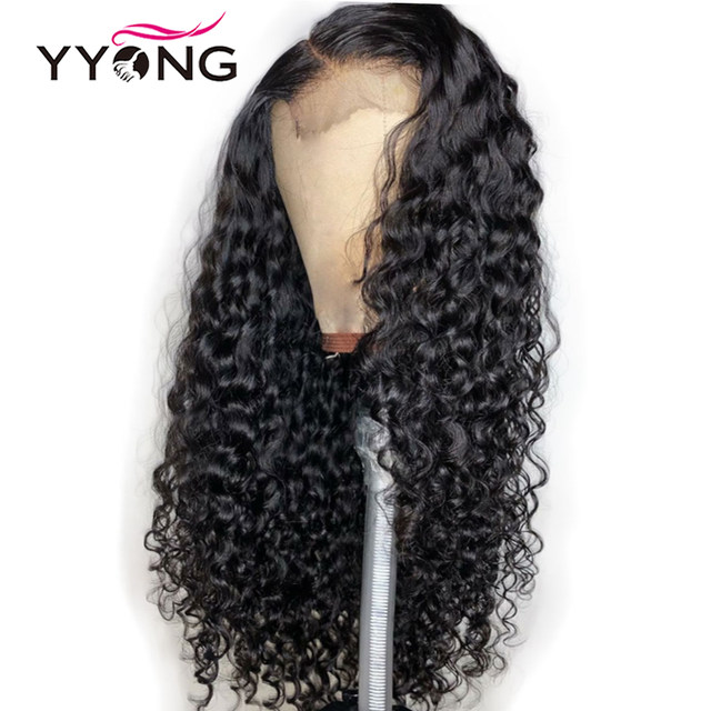 4-4 water wave lave wig