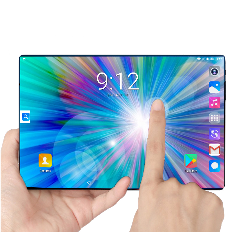 2020 Global Version 10 Inch Tablet Android 9.0 Octa Core 6GB RAM 128GB ROM 3G 4G FDD LTE Wifi Bluetooth GPS Phone Call Tablet Pc