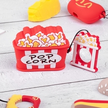 Cute Food Cartoon Bluetooth Wireless Earphone Case For Apple AirPods 3 Silicone Charging Headphones Cases Airpods Pro Cover
