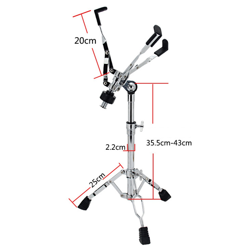 Dumb Stand Jazz Drum Rack Snare Drum Rack Drum Accessories Adjustable Hit Percussion Support Rack Drum Musical instrument Acce Pakistan