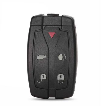 Bilchave 5 przycisków obudowa pilota z kluczykiem samochodowym obudowa pilota dla Land Rover Discovery 4 sportowy Evoque Freelander 2 3 LR2 tanie i dobre opinie CN (pochodzenie) China Key Shell 5 Buttons 0 035Kg