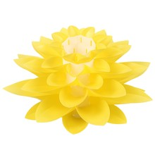 DIY Lotus Lampshade IQ PP Ceiling Lamp Shade - Pendant Light Shade Christmas Living Room Decor Lighting, DIA:53CM (Yellow)(China)
