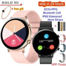 GW33 스마트 워치 여자 블루투스 전화 HD 스크린 ECG PPG 모니터 Smartwatch 남자 IP68 IOS 안 드 로이드 VS SG2 SG3 w26에 대 한 방수