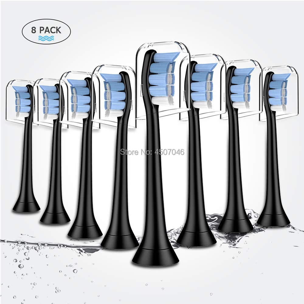 Brush Heads For Philips Sonicare , Fits 3 6 9 Series Gum Health, Diamond Clean, HealthyWhite, FlexCare, Easy To Clean