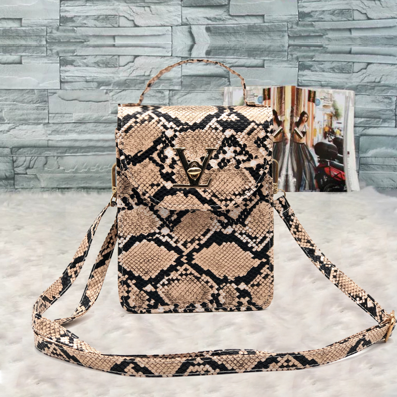 2020 European Style HandBags Women Brand American Ladies Fashion Crocodile Women Small Bags Mobile Phone Women Messenger Bags