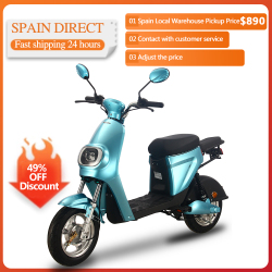 25km/h 48V 20AH 350W Electrical Motorcycle Scooter Electric Motor Motorcycle Adults Men Women Electric Bicycle Bike Vehicle
