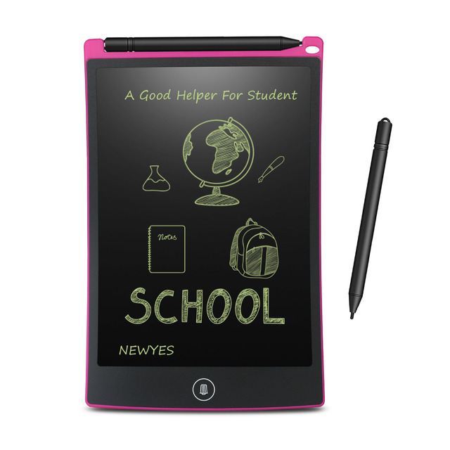 NEWYES 8.5 Inch LCD Writing Tablet Digital Drawing Tablet Handwriting Pads Portable Electronic Tablet Board ultra thin Board