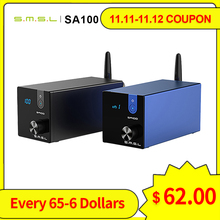 SMSL SA100 بلوتوث مضخم الصوت 50 واط + 50 واط TPA3116D2 مكبر كهربائي رقمي مرحبا فاي الصوت مكبر صوت استيريو