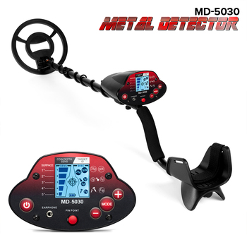 цена на Professional Metal Detector Underground  Search Gold Finder Detector Treasure Hunter Detecting Pinpointer MD5030 With LCD Displa