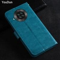 Funda abatible de cuero de lujo para Cubot Note 20 Pro, funda protectora para teléfono móvil