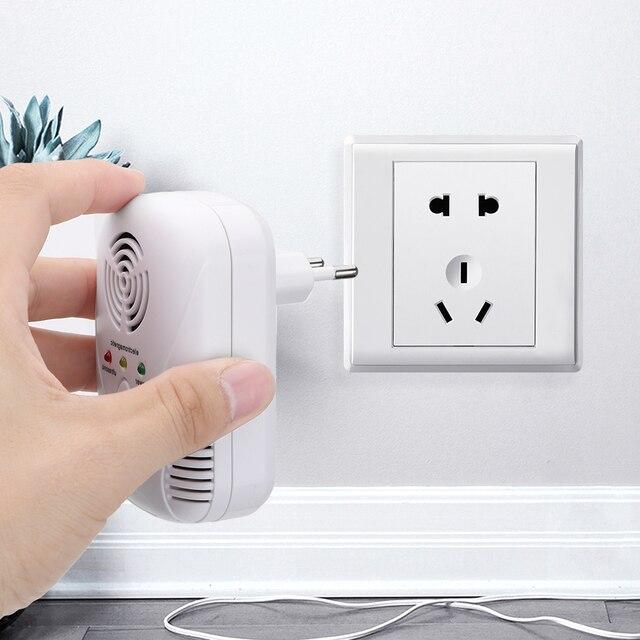 HILIFE  EU/US Plug Cockroach Trap Mouse Killer 110-240V/5W Electronic Ultrasonic Pest Control Repeller 4