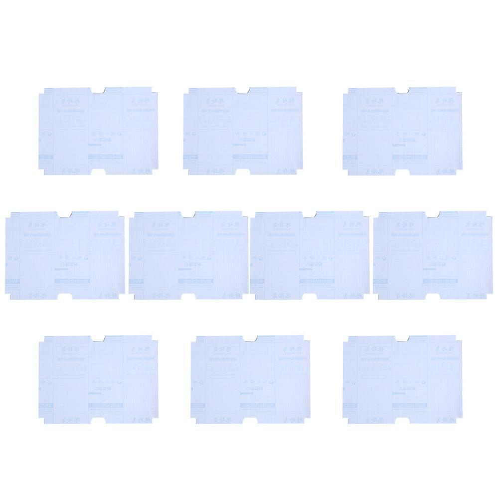 A4 10sheets/set Transparent Self-adhesive Film Book Material CPP Cover Slipcase Nubuck Waterproof 16K/22K Safety R9W1