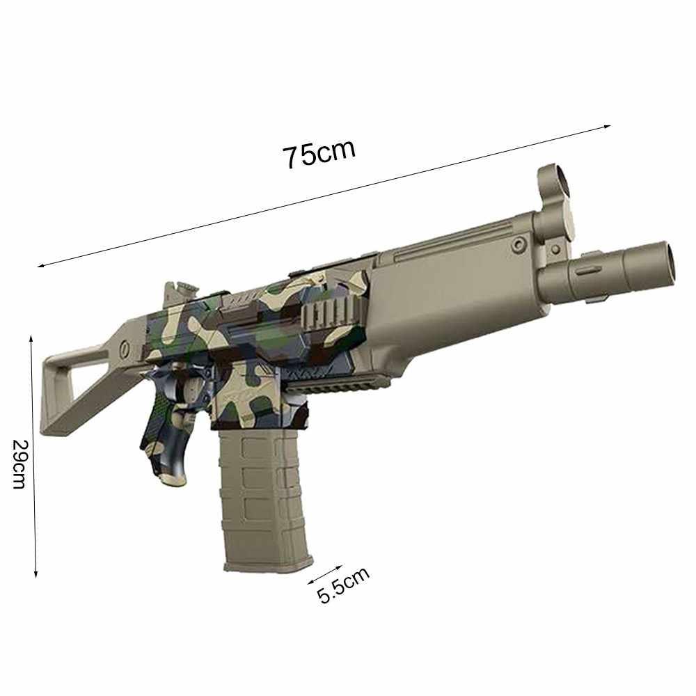 انفجار الكهربائية رصاصة طرية دعوى بندقية ل Nerf لعبة للهواء الطلق الناسف مع 20 السهام رغوة للأطفال والمراهقين والكبار