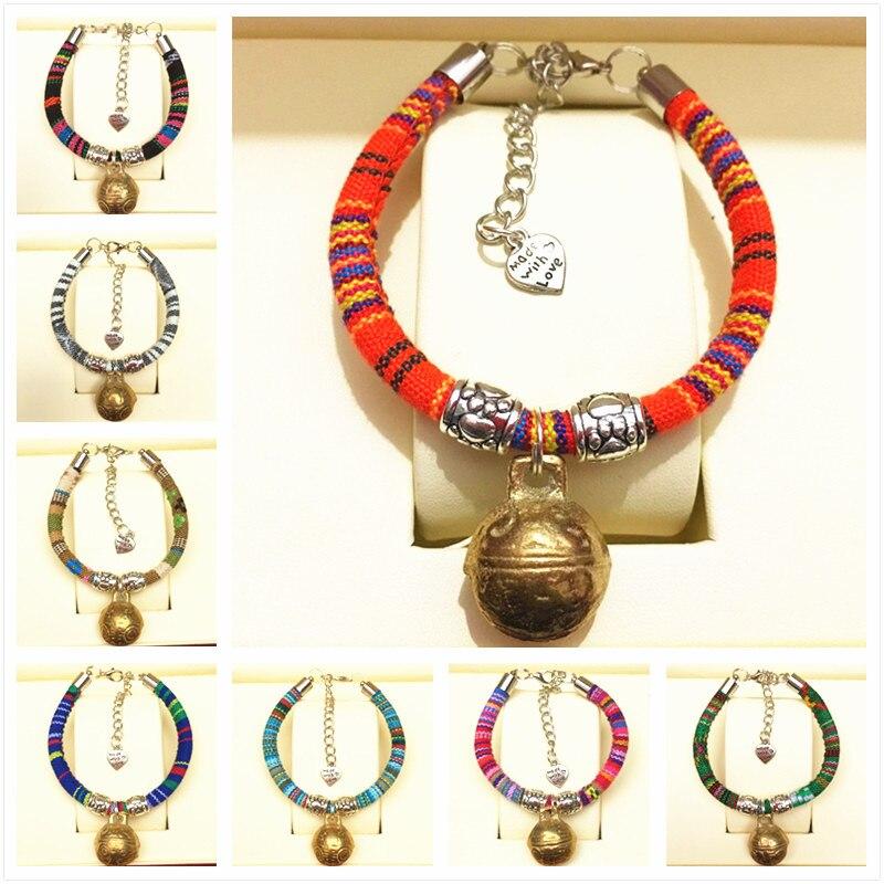 Купить медный колокольчик ручной работы для домашних животных ожерелье