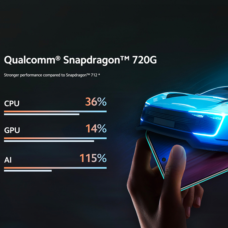 PromoteòXiaomi Snapdragon 720G Redmi Note-9 Pro 128GB 6GB WCDMA/LTE/GSM NFC Adaptive Fast Charge