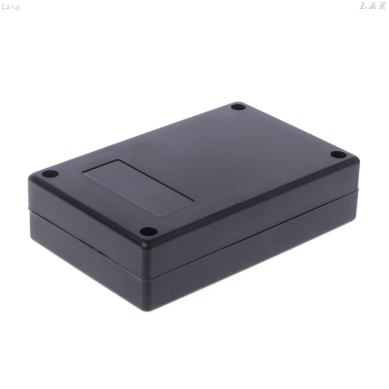 125x83x32mm Black Waterproof Box Electronic Project Instrument Case  Connector