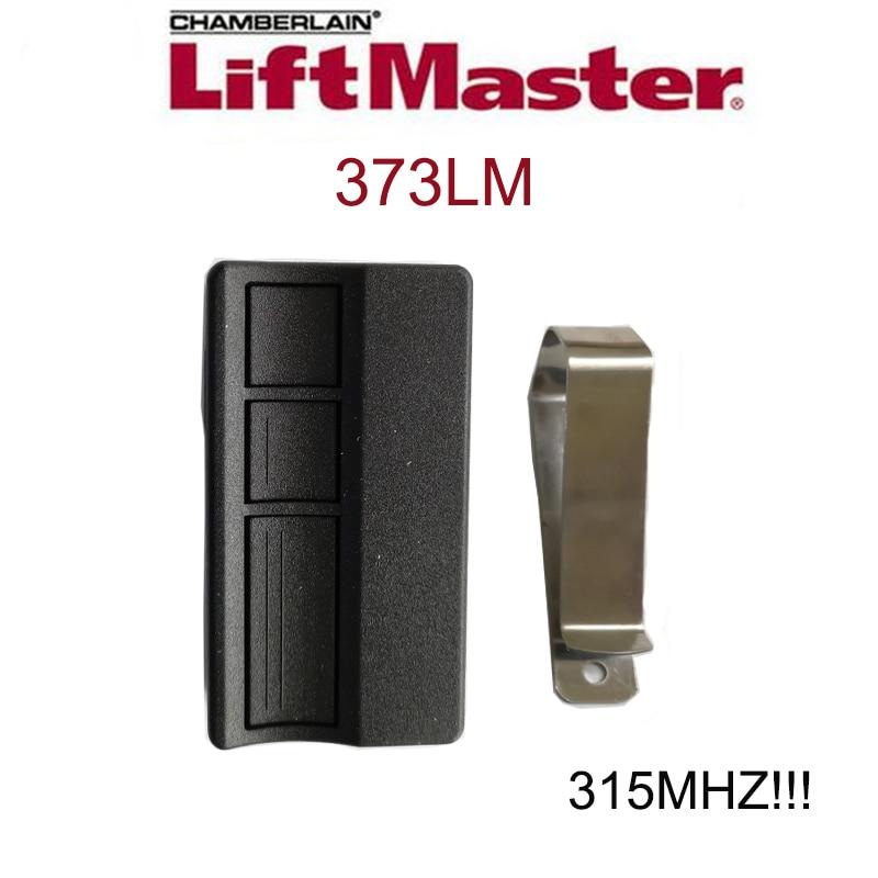 3 Button 315mhz LiftMaster 373LM Sears Craftsman 139.53753 Garage Door Opener Remote Control