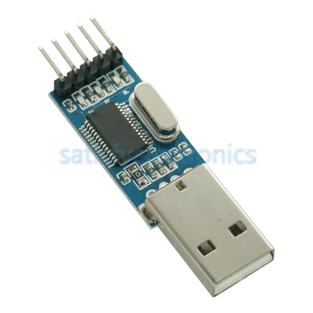 1PCS USB To Serial TTL USB-TTL Module Adapter PL2303HX Auto Converter Microcontroller With Flexible Cover 3.3V/5V For Arduino