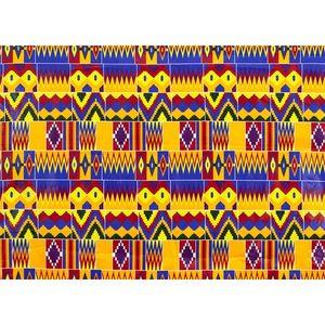 Image 4 - 2020 רויאל שעווה בטיק הדפסי אפריקה בד השמפניה 100% כותנה אנקרה קנט אמיתי שעווה Tissu האיכות הטובה ביותר עבור מפלגה שמלה handmake