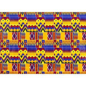 Image 4 - 2020 Royal Wax Batik Prints Africa Fabric Pagne 100% Cotton Ankara Kente Real Wax Tissu Best Quality For Party Dress Handmake