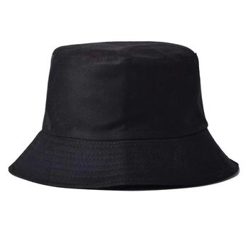 Harajuku Bucket Hat Men Women k pop bob Outdoor Beach sun hat black Solid Fishing Fisherman Sunscreen Hat Hip Hop panama кепки