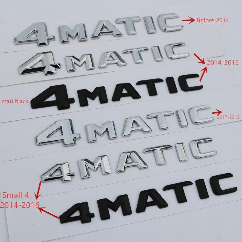 Для Mercedes Benz A B C E G S ML SL CL GLA CLA Class AMG 4matic 4matic Крышка для багажника, буквы, эмблема, значки с логотипом