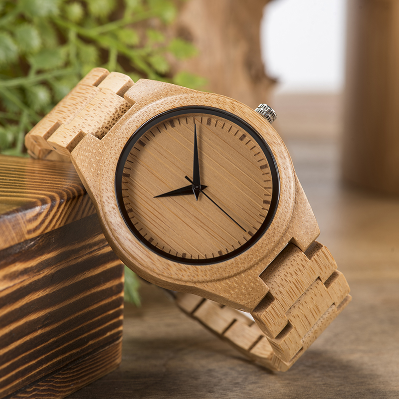 BOBO BIRD Taro Kono Foreign Minister Japan Watch Men Quartz Wristwatch Bamboo Band Wristwatch こうのたろう  Relogio Feminino