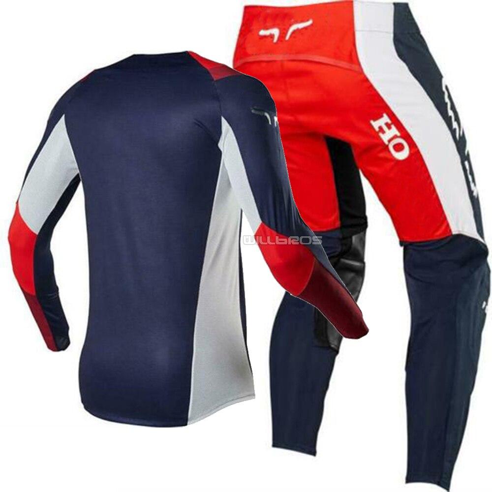 FOX Honda T-Shirt Spring 2019 cardinal rot Motocross Enduro MX Cross