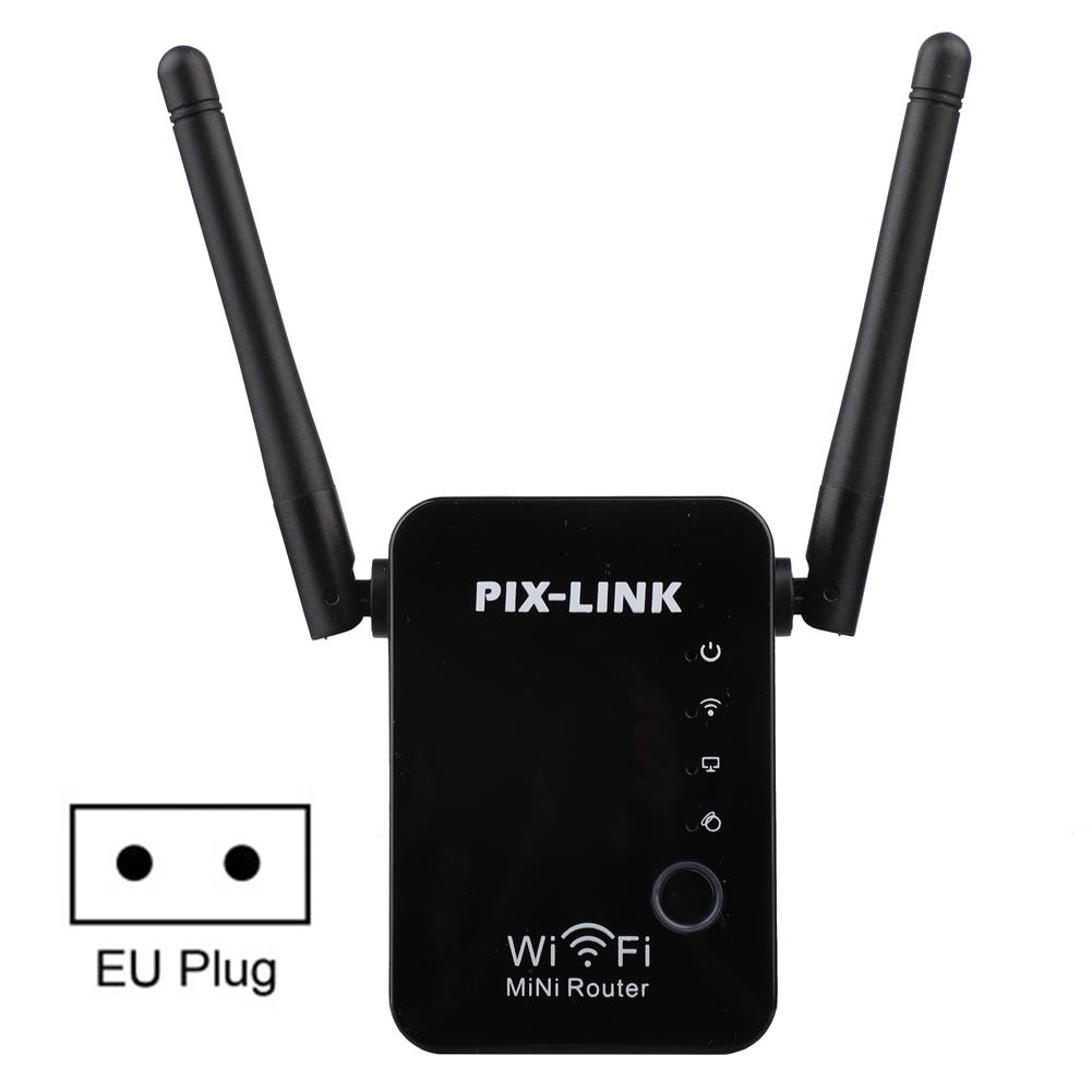 High Wireless Wifi Repeater 300mbps Universal Range Wireless Router RJ45 2 Ports Router Extender Mode