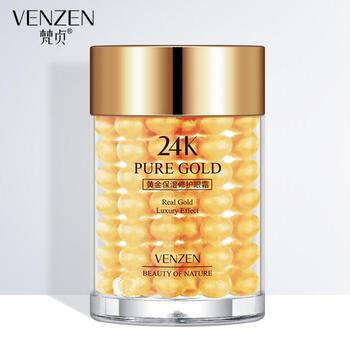 24K Gold Eye Cream Moisturizing Anti Puffiness Anti Wrinkle Remove Dark Circle Anti-Aging Eye Care