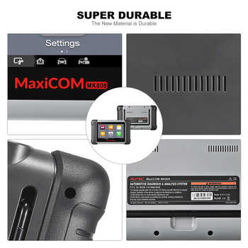 Autel MaxiCom MK808 MX808 Diagnostic Tool Car OBD2 Scanner Engine Analysiser All System OBD2 Diagnostic Scanner Key Programmer