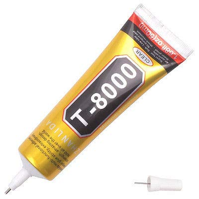 1 Pcs 50ml Industrial Strength Adhesive T8000 Clear Liquid Glue For Phone Touch Screen DIY Jewerly Craft Rhinestone Glue