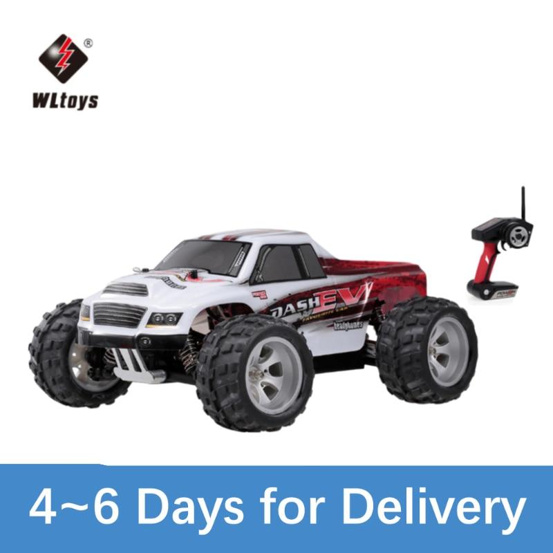WLtoys A979-B 2,4G 1/18 Радиоуправляемый автомобиль 4WD 70 км/ч высокоскоростной Электрический полнопропорциональный большой грузовик с дистанционным...