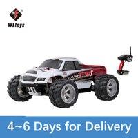 WLtoys A979-B 2.4G 1/18 RC Auto 4WD 70KM/H Ad Alta Velocità Elettrico Full Proporzionale Big Foot Camion di Telecomando di Telecomando auto RC Crawler RTR