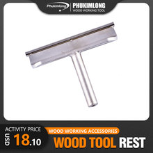 tool rest for wood turning lathe Woodworking Spindle Turner's Tool rest Set Robust Woodturning Tool Rest for Mini Lathe